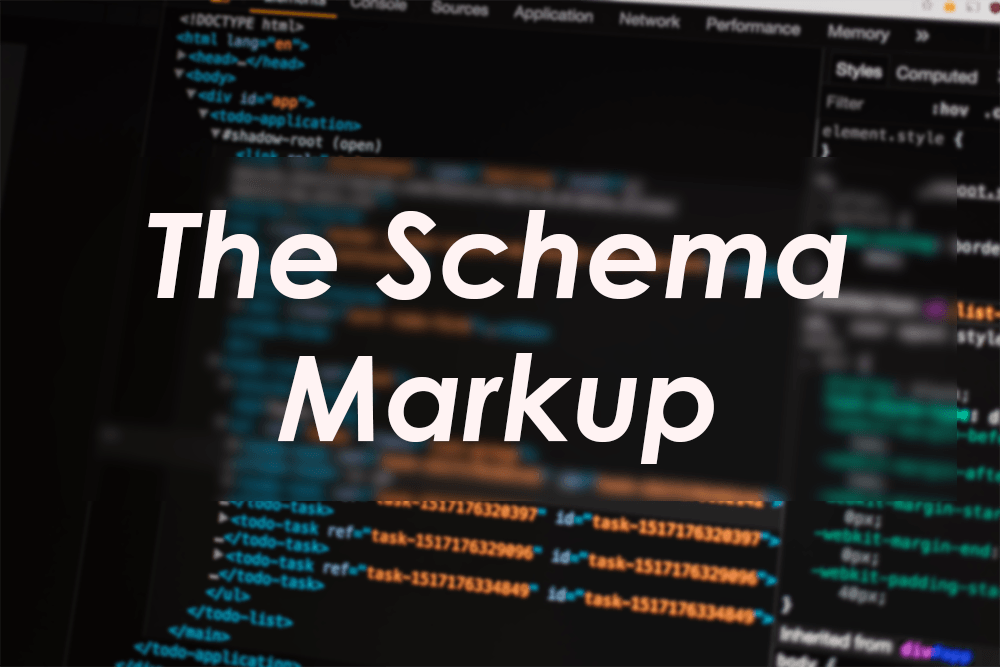 What is The Schema Markup