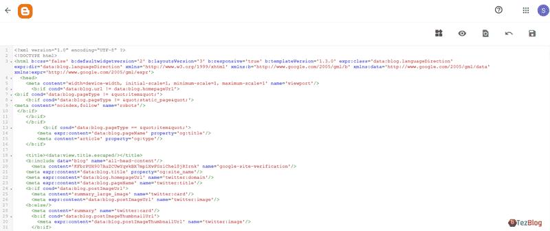 كيفية تحرير ملف XML لتغيير وتخصيص شكل قالب بلوجر