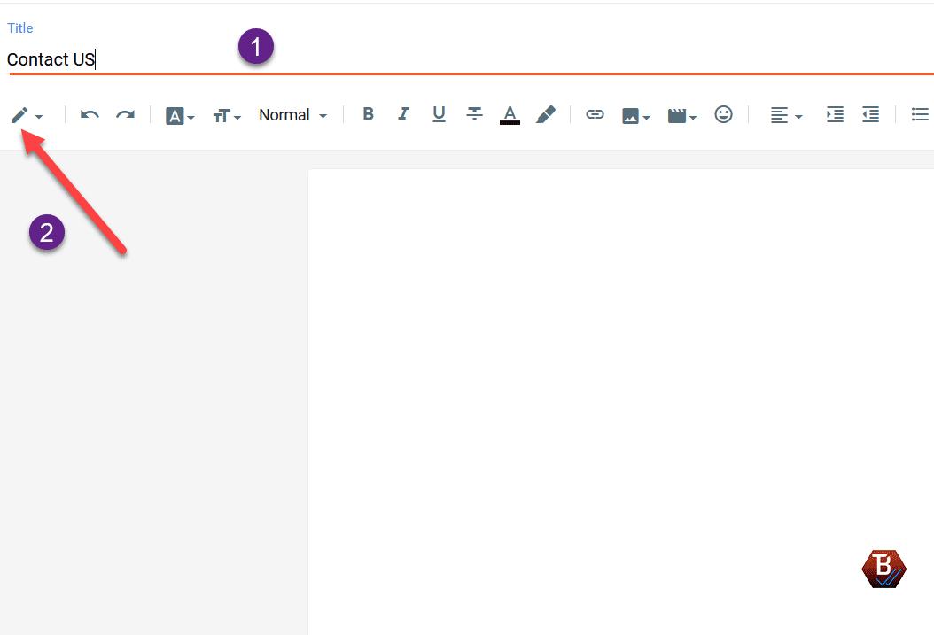 كيفية إنشاء صفحة اتصل بنا لمدونة بلوجر بكل سهولة